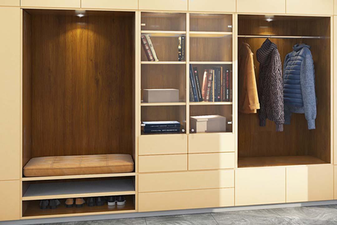 5 combinaciones de estructura interna de armarios empotrados que te encantarán