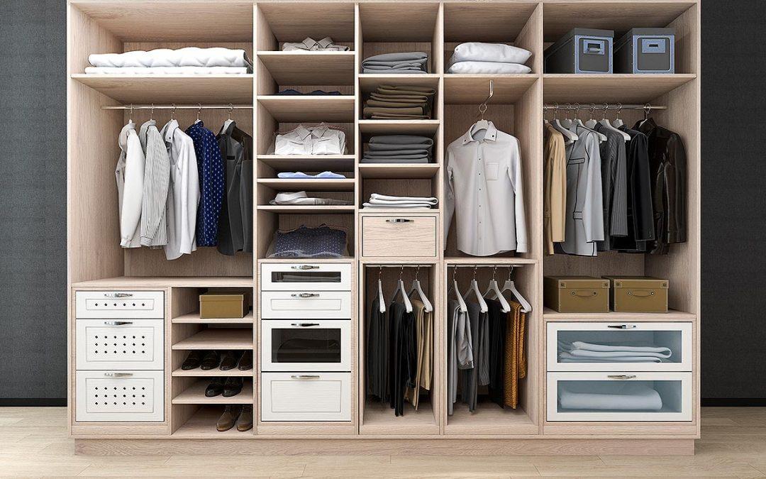 Tipos de instalaciones de iluminación en tu armario